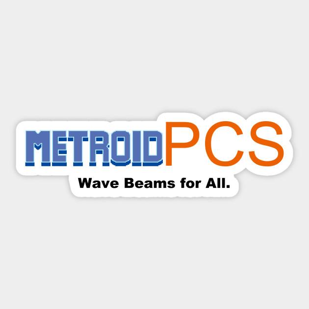 Metroid PCS Sticker