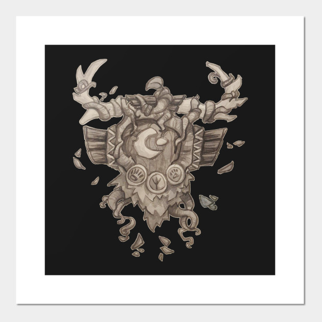 Druid Crest World Of Warcraft Posters And Art Prints Teepublic