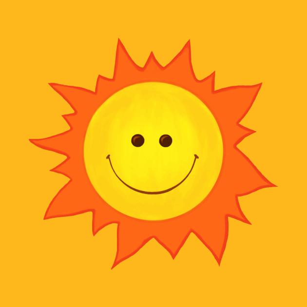 Cute Happy Smiling Sun