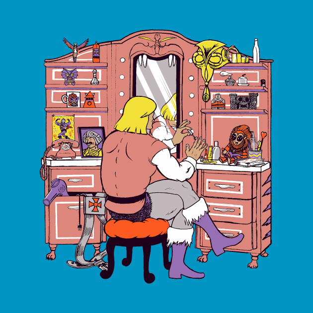 He-man secret-room