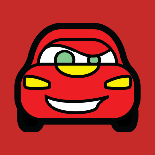 Lightning McQueen Tooniefied t-shirts