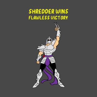 Flawless Victory Shredder t-shirts