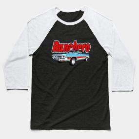 3d21956c 1971 Ford Ranchero at Three Palms - 5th Generation of Ranchero Baseball T- Shirt