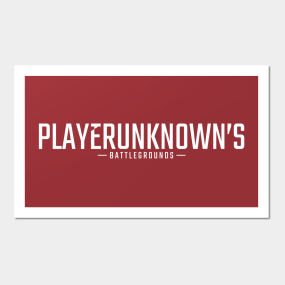 0c141837c Playerunknowns Posters and Art Prints | TeePublic