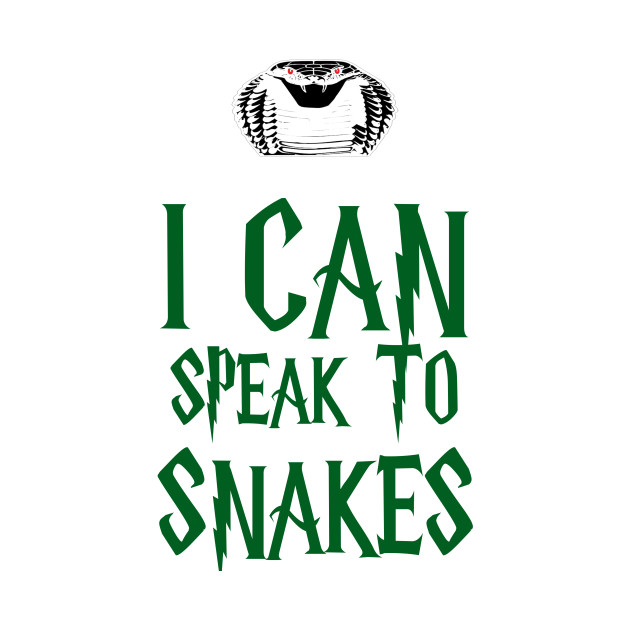 I Can To Speak To Snakes