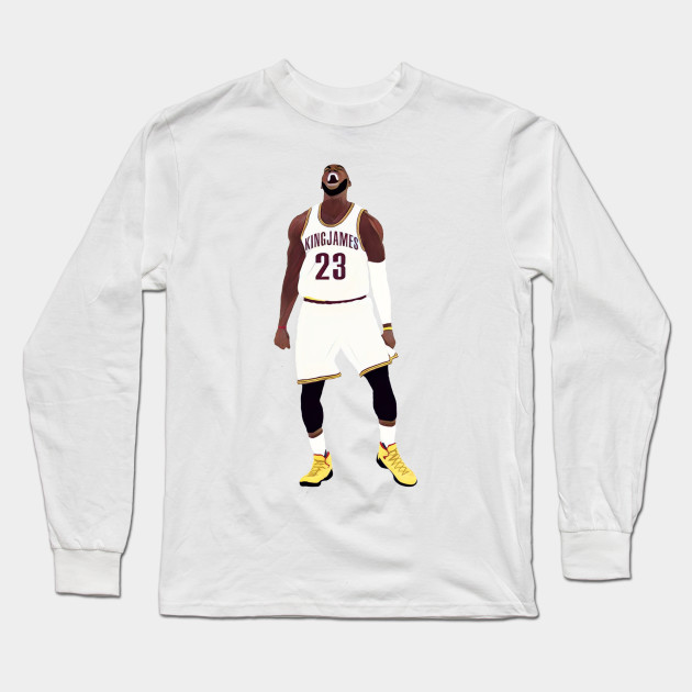 the best attitude bbf6a 33187 King – Lebron James – Long Sleeve T-Shirt | TeePublic ...