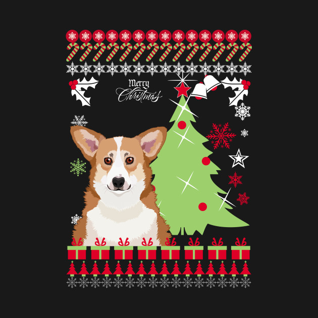 Corgi Christmas Sweater