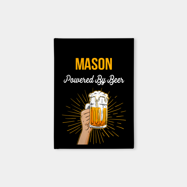 Beer Lover Mason Gift Powered By Beer