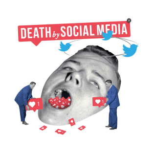 Death by Social Media t-shirts