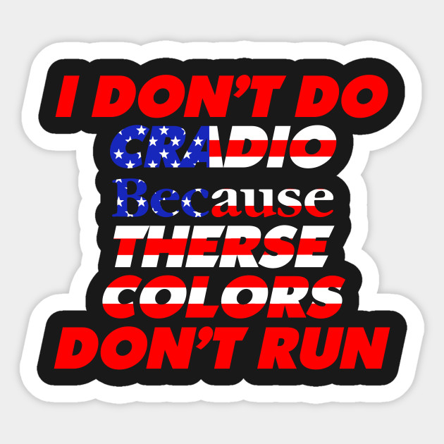 441b98cae5 Funny 4th of July Shirts-I Don't Do Cardio for Men or Women tshirt Sticker