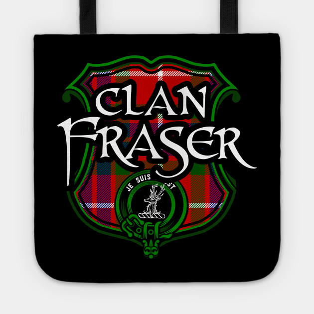 Clan Fraser Surname Scottish Clan Tartan Crest Badge