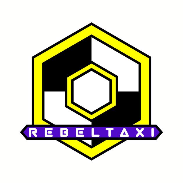 RebelTaxi Hexigon Logo