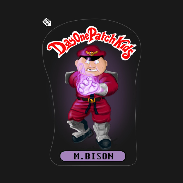 Day One Patch Kids 005 (M.Bison)