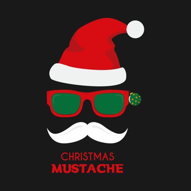 santa mustache shirt - Christmas - Kids T-Shirt  e3de234e6