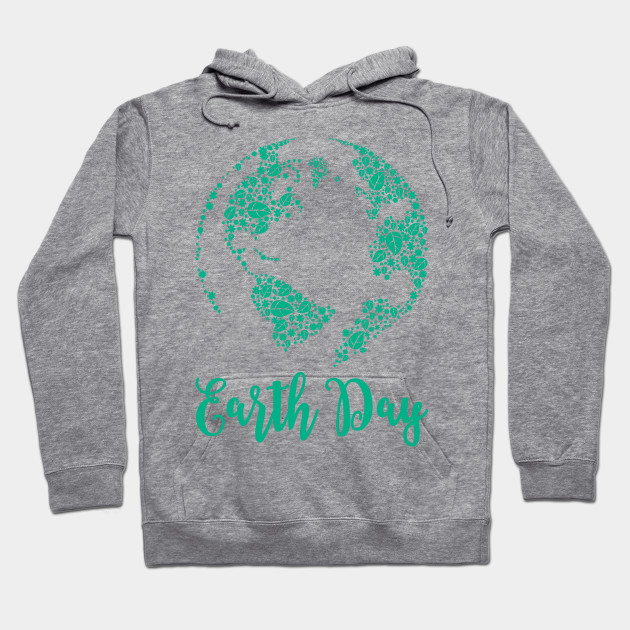 Earth Day World Leaves - Earth Day graphic Gift Hoodie