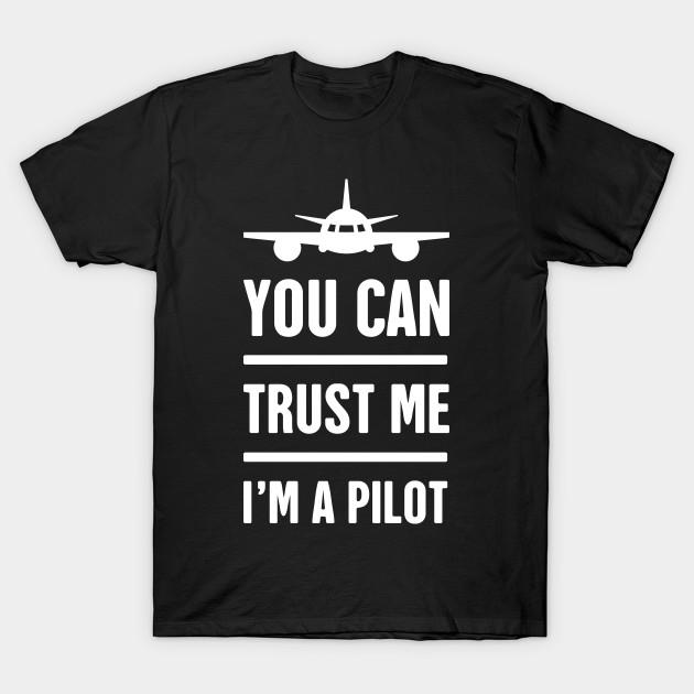 44651a7917 Funny Airplane Pilot Design - Pilot - T-Shirt   TeePublic