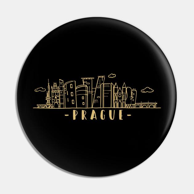 Prague Czech Republic Skyline Architecture Cityscape