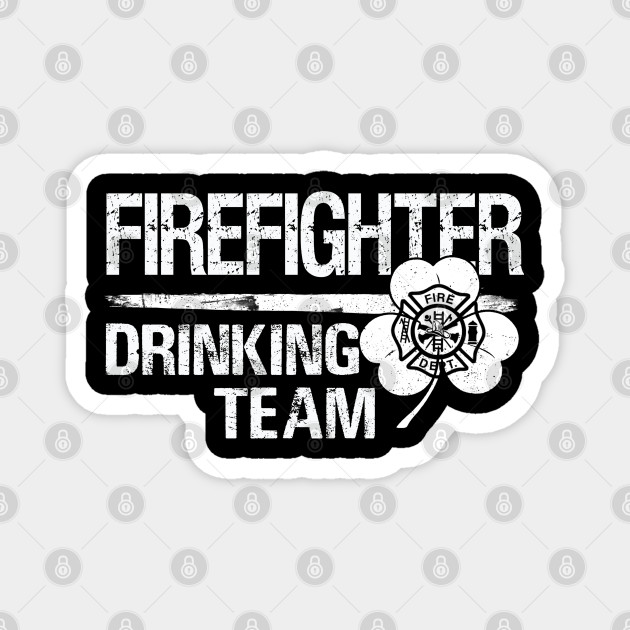 Firefighter drinking team