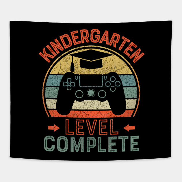 kindergarten level complete gamer graduate shirt gifts