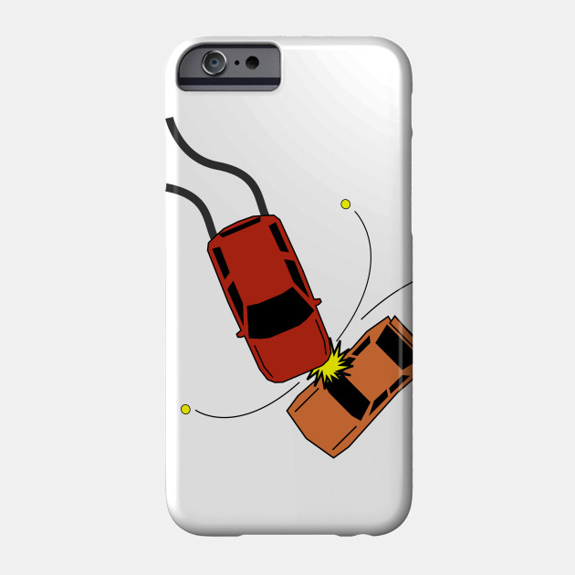 Limited Edition Exclusive Car Accident Car Accident Phone Case