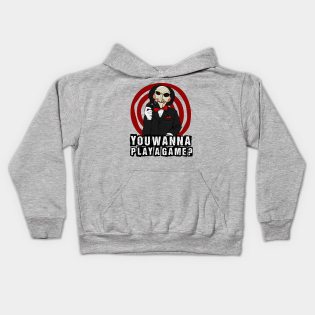 75cf87da You wanna play a game? - Jigsaw - Kids Hoodie | TeePublic