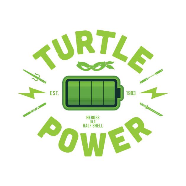 Turtle Power - Ooze green