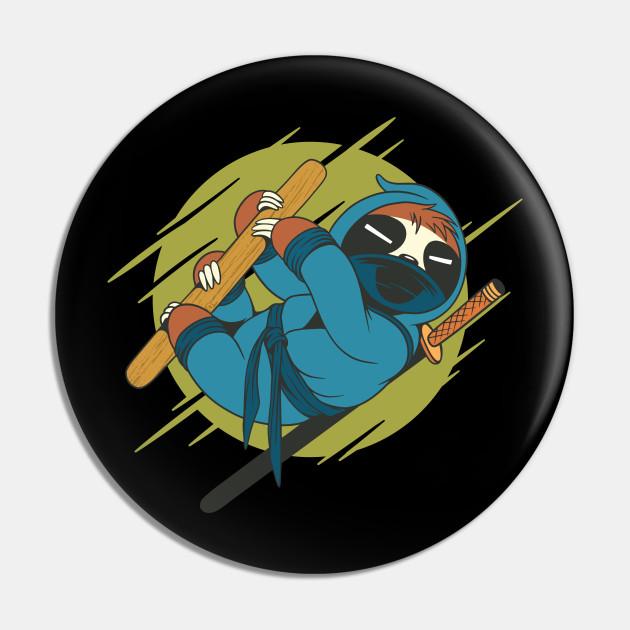 Ninja Sloth Design