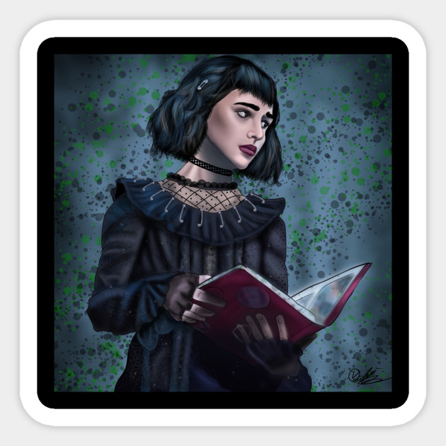 Lydia Deetz Beetlejuice Musical Sticker Teepublic