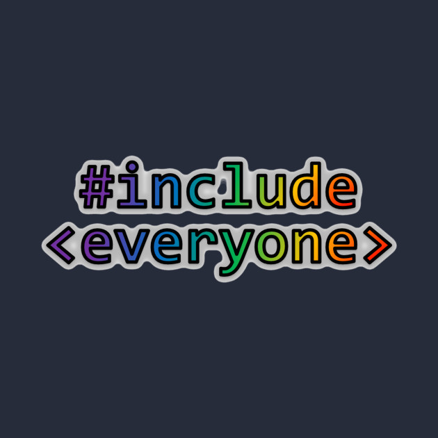 Geeks for Peace - #include everyone