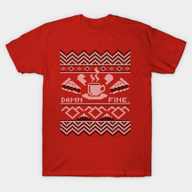Damn Fine Sweater Twin Peaks T Shirt Teepublic