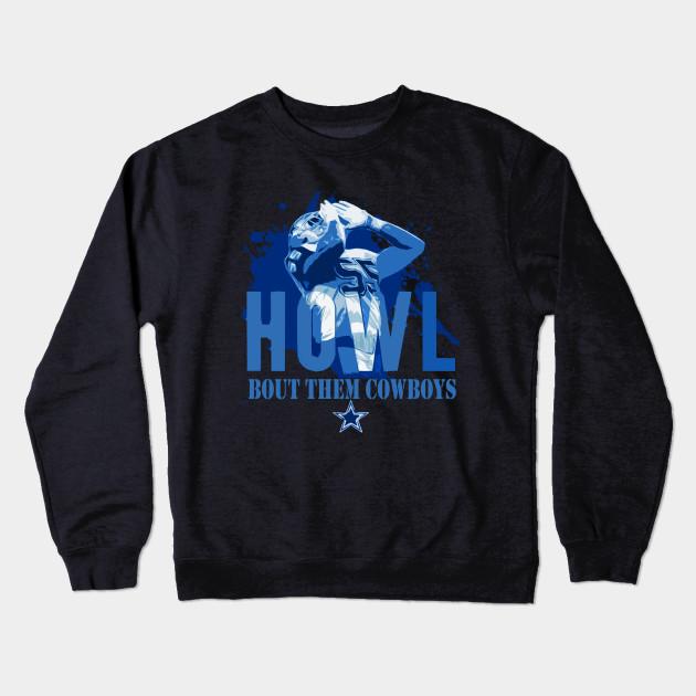 half off af3dd 683e5 Dallas Cowboys Leighton Vander Esch Leighton Vander Esch Navy Howl Bout  Them Cowboys