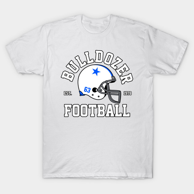 Bulldozer Football T-Shirt-TOZ