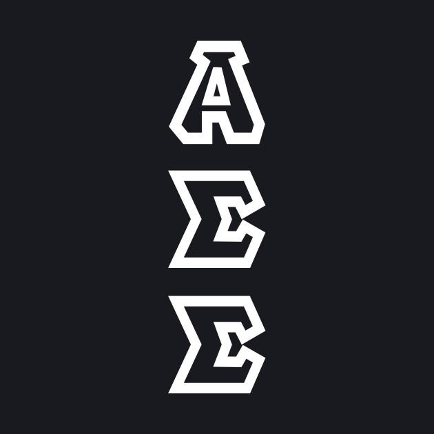Alpha Sigma Sigma - White Text