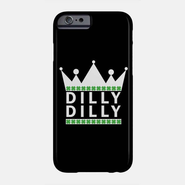 St. Patrick's Day Dilly Dilly Beer Medieval T-Shirt Phone Case