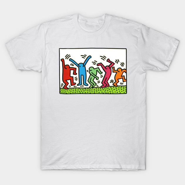 keith haring keith haring t shirt teepublic. Black Bedroom Furniture Sets. Home Design Ideas