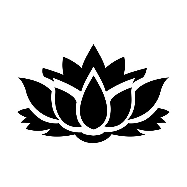 Limited Edition Exclusive Lotus Flower Silhouette 8 Lotus Flower