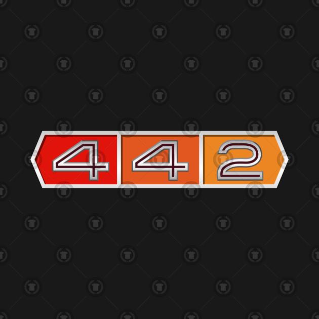 a0779e7c 442 Oldsmobile Brag Badge Circa 60's 442 Oldsmobile Brag Badge Circa 60's