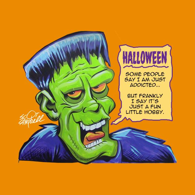 Frank loves Halloween