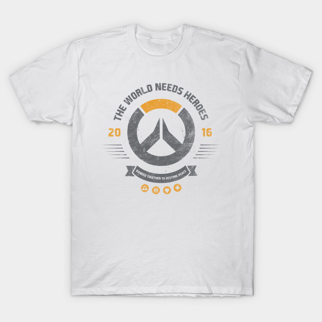 The world needs heroes T-Shirt-TOZ