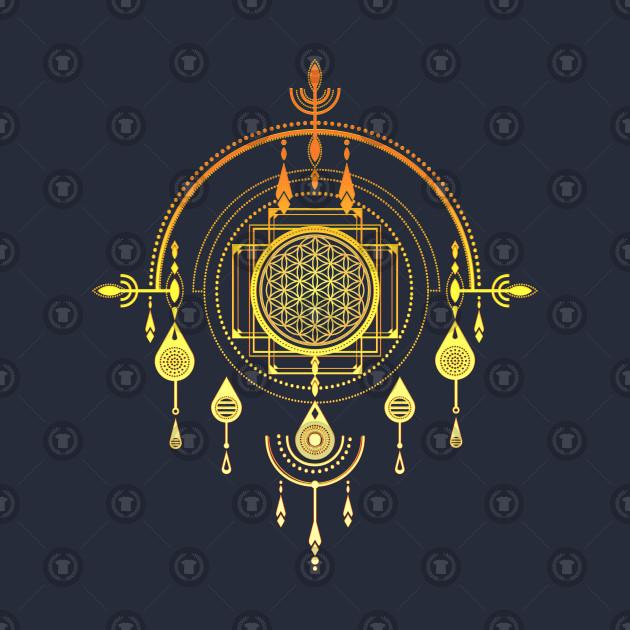 Flower of life, Sacred Geometry, Dreamcatcher, Dream Catcher