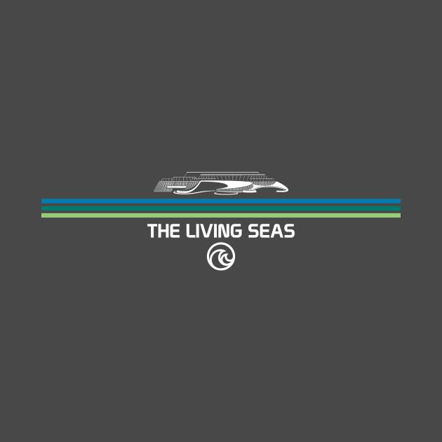 The Living Seas Retro-Style