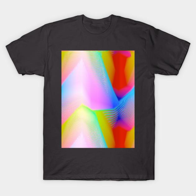 Geometric Futures 2 Repeat Pattern Modular Synth Art Interior Design T Shirt Teepublic