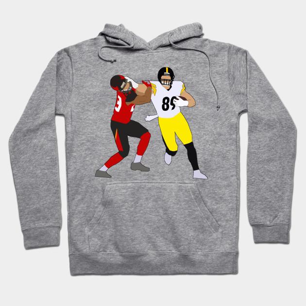 huge selection of 4b3cf 333c5 Vance McDonald Stiff Arm - Pittsburgh Steelers