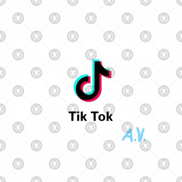 d3aa2516352a Tik Tok Merch - Tiktok - Baseball T-Shirt | TeePublic