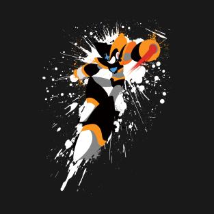 Bass Splatter Shirt t-shirts