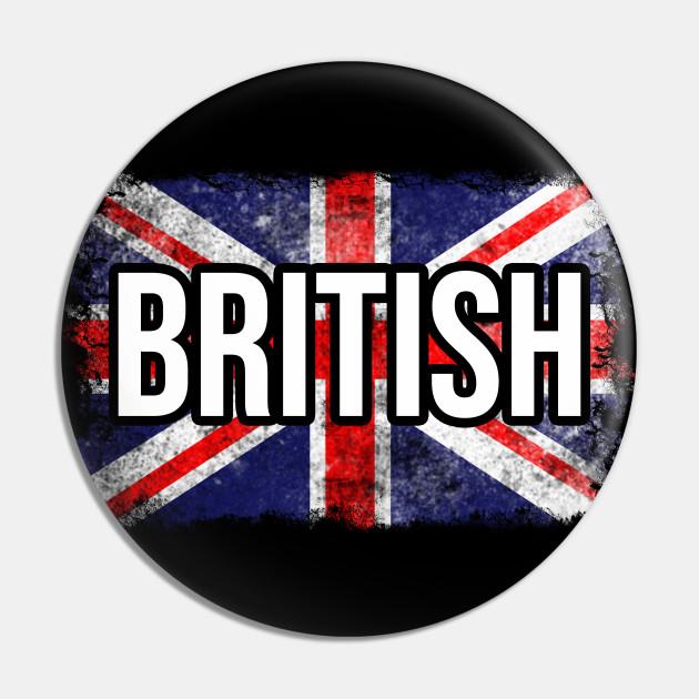 Cool British Flag. Proud Union Jack Flag. English Teacher