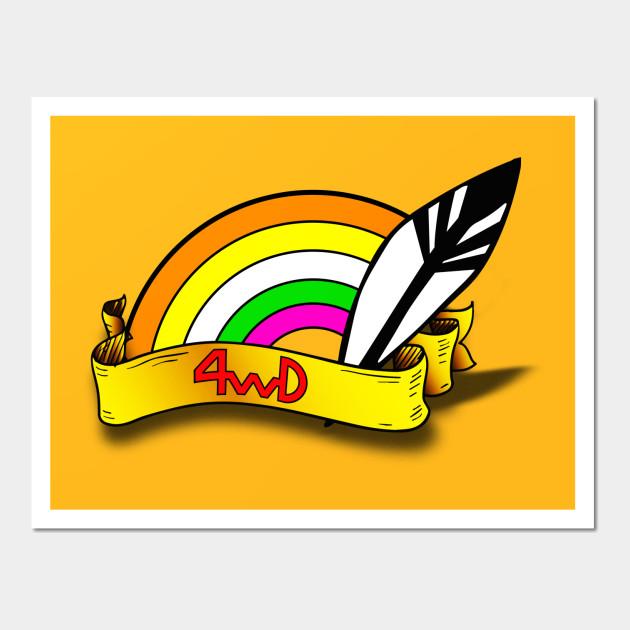 4WD Head Band - Dash Yonkuro Mini4wd Race Kids - Wall Art | TeePublic