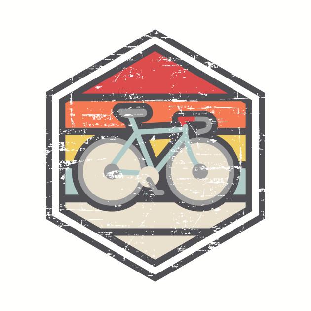 Retro Badge Road Bike Light