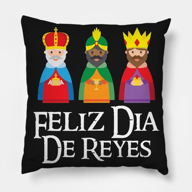 Feliz Dia De Reyes Three Kings Day Epiphany T Shir