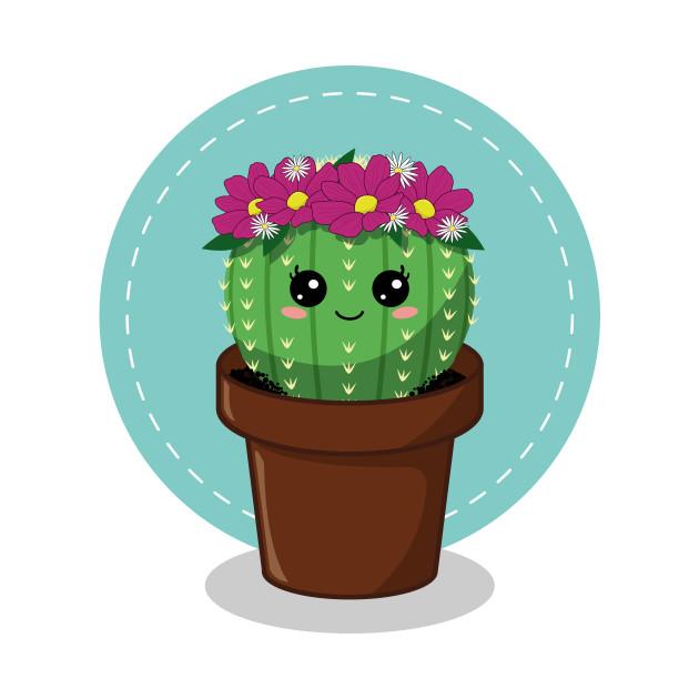 Kawaii Cactus Cactus T Shirt Teepublic